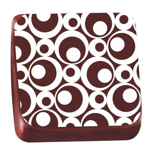 Transfer para Chocolate (40 x 30cm) - Óptico Branco