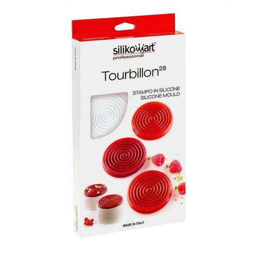 Forma em Silicone Tourbilon 28ml - Silikomart