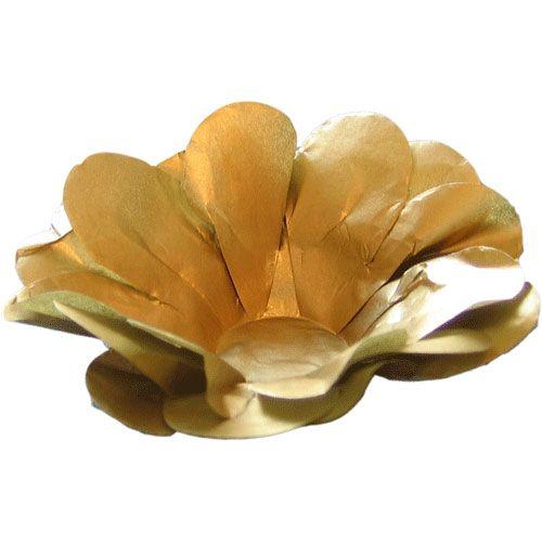 Forminha para Doce Seda- Dourada (40 uni)