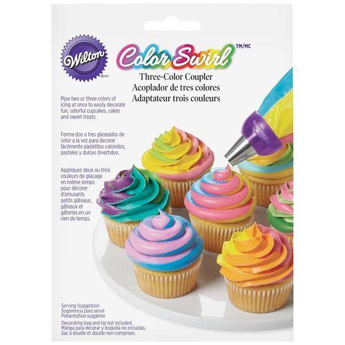 Adaptador Tricolor ColorSwirl - Wilton