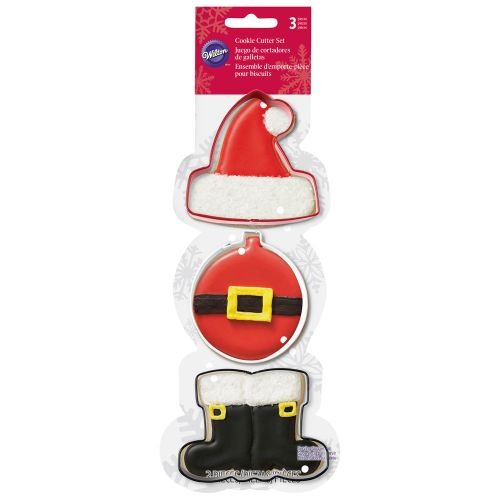 Santa Claus Cookie Cutter Set - Wilton