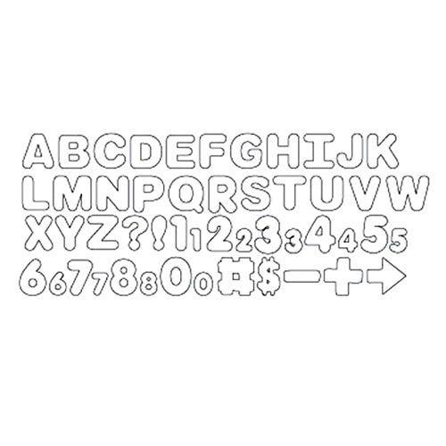 Kit Cortadores Letras e Números A-B-C e 1-2-3 - Wilton