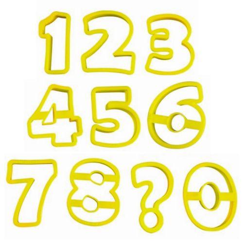 Conjunto Cortadores Números - BlueStar