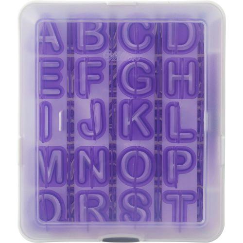 40-Piece Alphabet & Numbers Fondant Cut-Outs - Wilton
