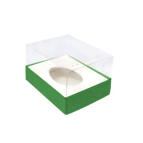 Caixa Ovo de Colher 50g Verde (10uni) - ArtCrystal