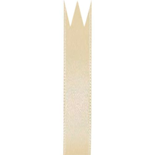 Fita Cetim Simples Bege (0,7cm x 10m) - Progresso