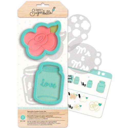 Kit Decoração de Biscoito Rose - Sweet Sugarbelle