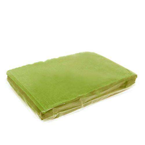 Crepom para bem-casado 18 x 12cm - Verde Pistache