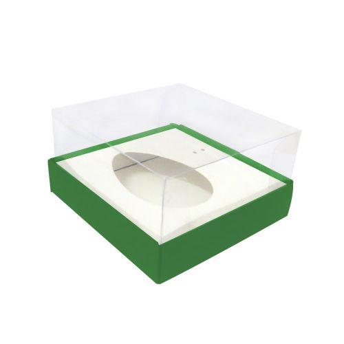 Caixa Ovo de Colher 100/150g Verde (5uni) - ArtCrystal