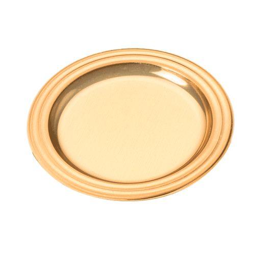 Mini Bandeja Dourada Redonda 7cm (25uni) - Stalden
