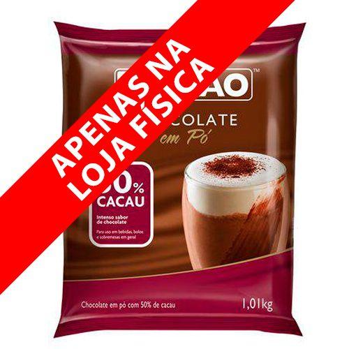 Chocolate em Pó 50% Cacau (1,01kg) - Sicao
