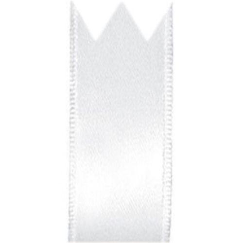 Fita Cetim Simples Branco (2,2cm x 10m) - Progresso