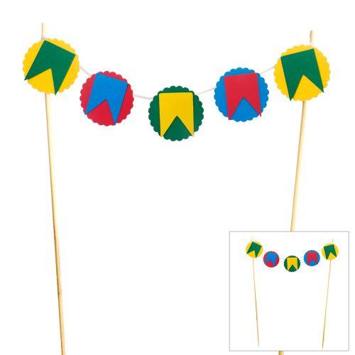 Bandeirola Festa Junina - Papel Confeito
