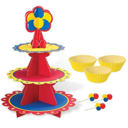 Suporte para Cupcake Cores Primárias - Wilton