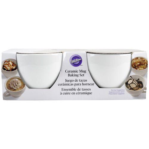 4-Piece Ceramic Baking Mug Set - Wilton