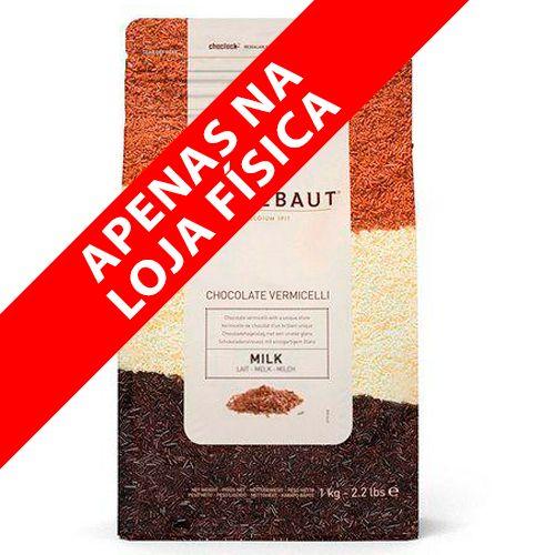 Granulado Vermicelli ao Leite (1kg) - Callebaut