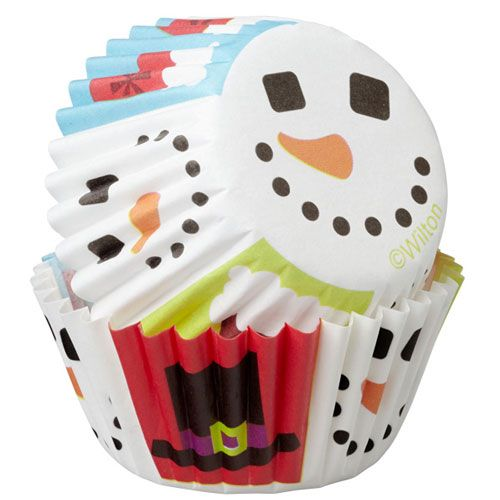 Merry & Sweet Mini Baking Cups - Wilton
