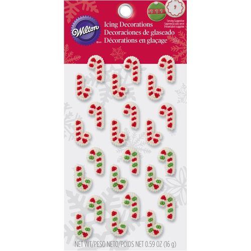 Confeito em Açúcar Bengalas de Natal (24uni) - Wilton