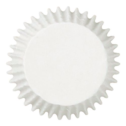 Forminha Mini Cupcake Branca nº 2 (50uni) - Polipel