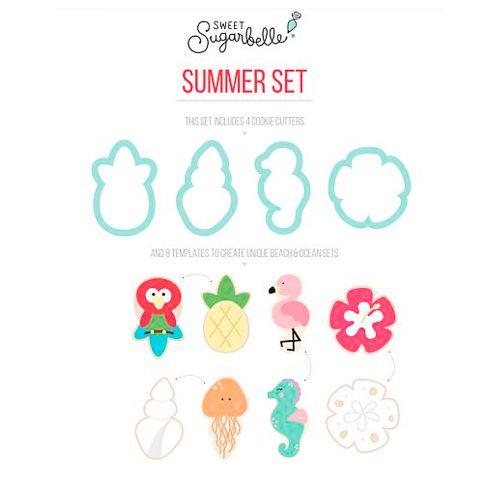 Kit Decoração de Biscoito Verão - Sweet Sugarbelle