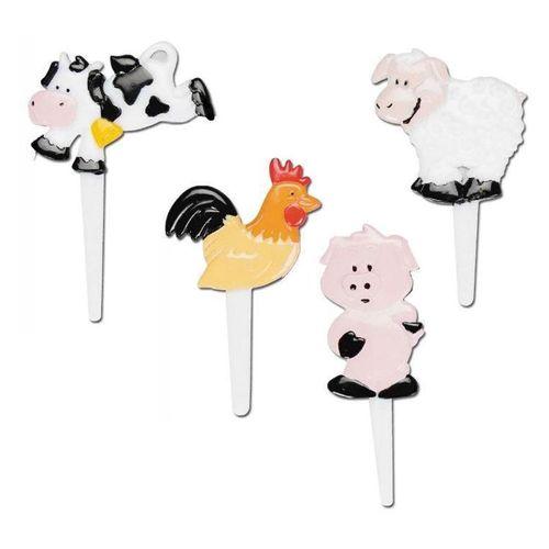 Enfeite Animais da Fazenda (8uni)