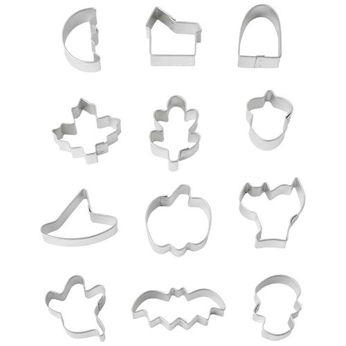 Halloween Mini Cookie Cutters - Wilton