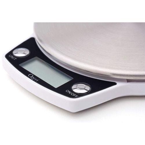 Balança Digital Branca com Precisão de 1g