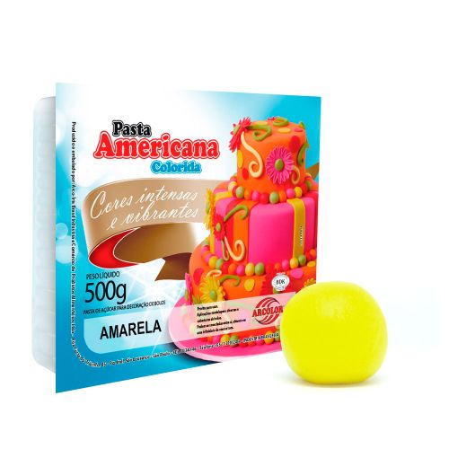 Pasta Americana Amarela 500g - Arcolor