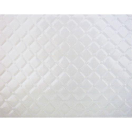 Placa de Textura Flexível para Chocolate e Bolo Matelassê (2,0m x 20cm) - BWB