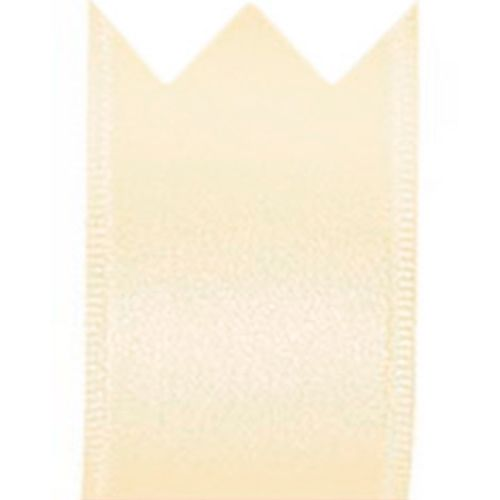 Fita Cetim Simples Creme (3,8cm x 10m) - Progresso