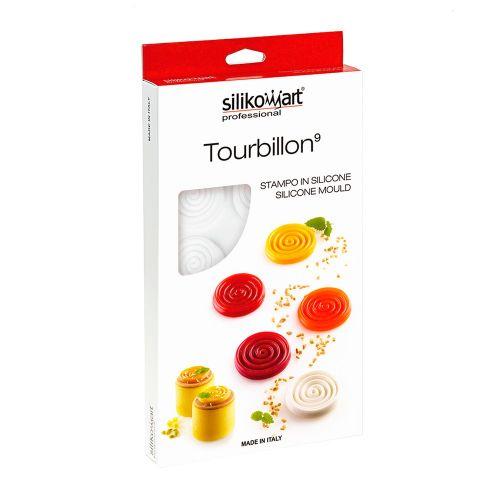 Forma em Silicone Tourbilon 9ml - Silikomart