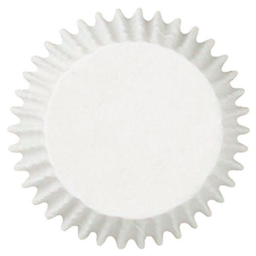 Forminha Mini Cupcake Branca nº 1 (100uni) - Polipel