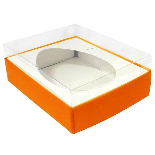 Caixa Ovo de Colher 350/400g Laranja (5uni) - ArtCrystal