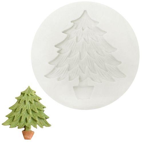 Molde de Silicone Pinheiro de Natal - Gummies