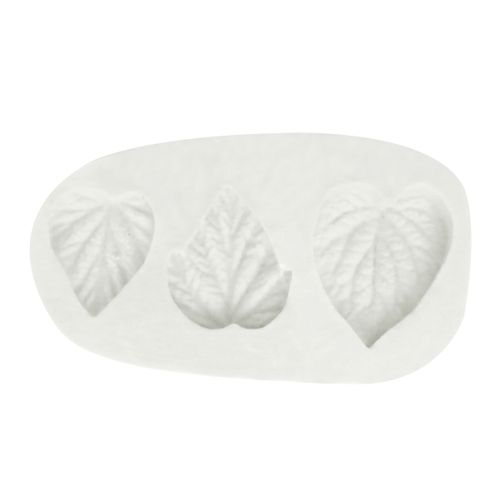 Molde de Silicone 3 Folhas - Gummies
