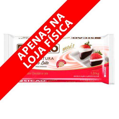 Cobertura Sicao Mais Chocolate ao Leite Sicao (1,01kg) - Sicao