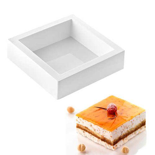 TortaFlex Quadrada 18cm - Silikomart