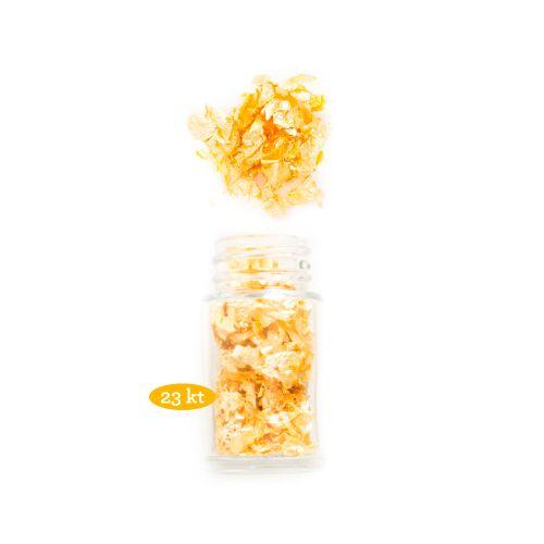 Ouro Comestível em Grumos 23ki - Decora
