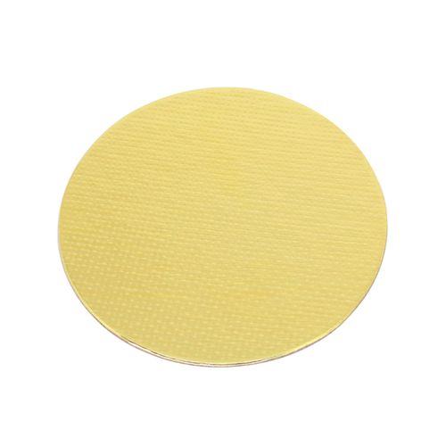 Base Laminada Redonda Dourada para Bolos 21,0cm (5uni)