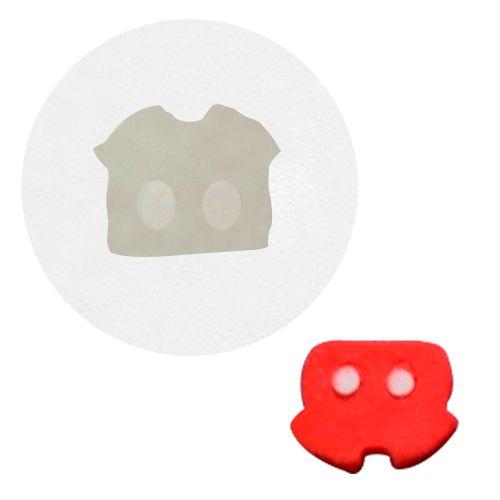 Molde de Silicone Roupa Mickey - Gummies