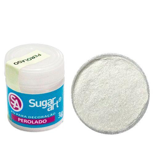 Corante em Pó 3g Sugar Art - Pérola