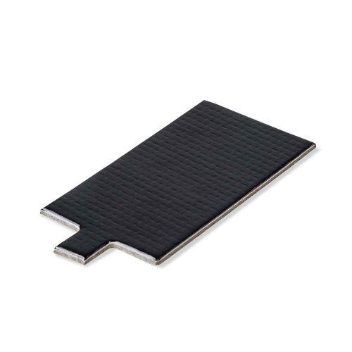 Base Laminada Retangular preta para Doces 10 X 5,5cm (50uni)