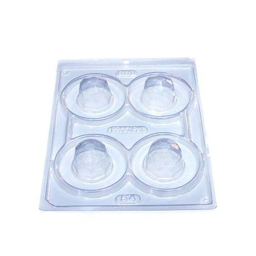 Forma PVC com Silicone Trufa Diamante - BWB