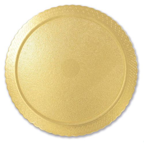 Base para Bolo Cakeboard Redonda Ouro 35cm (10uni) – Ultrafest