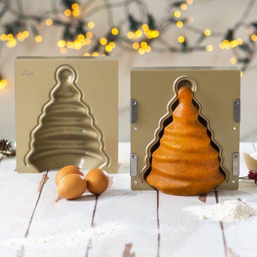 Forma de Bolo Árvore de Natal 3D - Decora