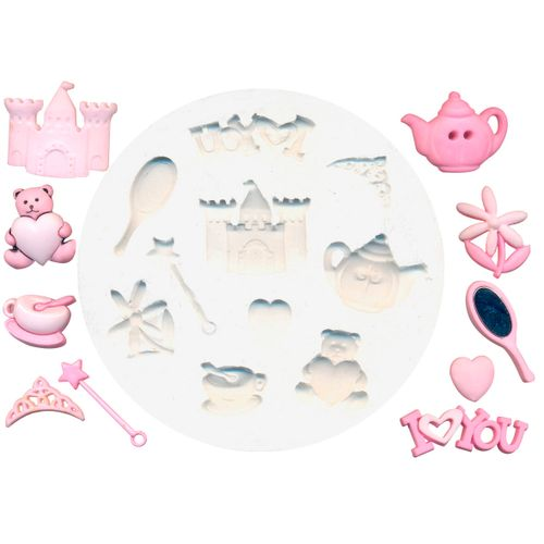 Molde de Silicone Kit Princesa - Gummies