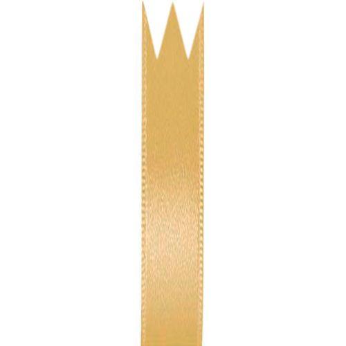 Fita Cetim Simples Ouro (0,7cm x 10m) - Progresso