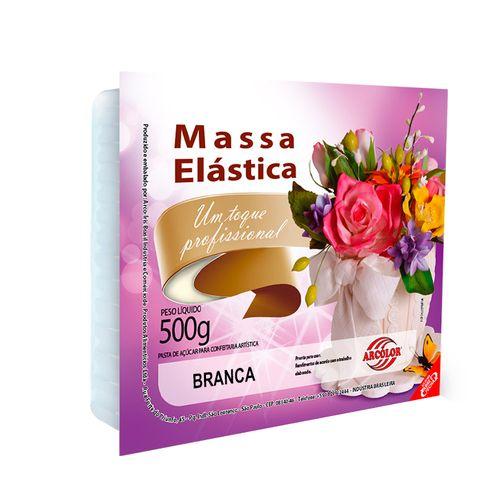Massa Elástica Branca 500g - Arcolor