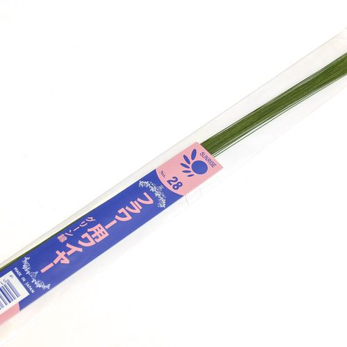 Arame para Flor de Açúcar nº 28 - 36cm Verde (50uni) - Sunrise