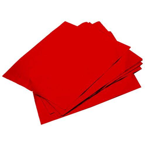 Folha Chumbo 43,5 x 59,0cm (3uni) - Vermelho